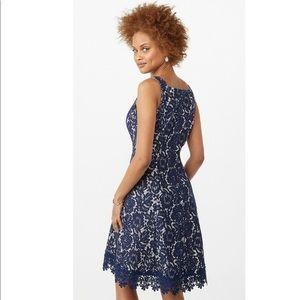 Lace Crochet Hem Dress